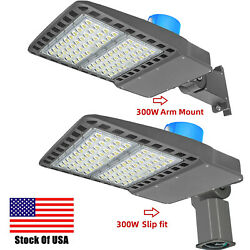 Dusk To Dawn Outdoor Commercial Area Road Lights300w Led Parking Lot Light