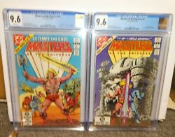 Masters Of The Universe He-man Skeletor 1st Appearance 9.6 Cgc 1 And 2 Motu 1982