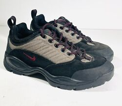 Vintage Acg Air Max Trail Running Shoes From 1999 Black Brown Men's Size 9
