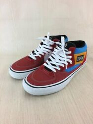 Half Cab Pro High-cut Red Blue Yellow Skateboard Us10 Menand039s Sneakers G1886