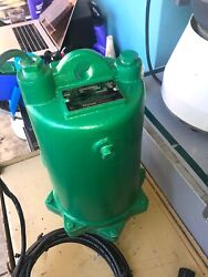 Myers Me50s-11 Handling Effluent Pump 1/2hp 115volts 1phase 2 Discharge 3/4sld