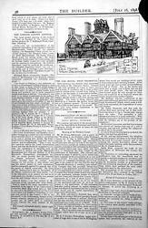 Old Antique Print The Oak House West Bromwich Exterior Many Chimneys 1898 19th