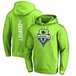 Clint Dempsey Seattle Sounders Fc Fanatics Branded Backer Name And Number Pullover