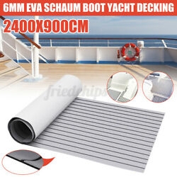 Us 94x35and039and039 Eva Foam Faux Wood Teak Decking Sheet Boat Marine Yacht Floor Deluxe