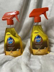 2x Pledge Orange Revive It Restoring Oil 16oz Condition To Look New Discontinued