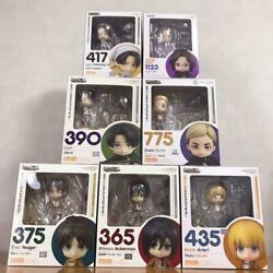 Attack On Titan Nendoroid Good Smile Company All Member 7 Set From Japan