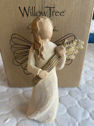 Willow Tree Angel Of Autumn Hand Painted And Sculpted Resin Figurine