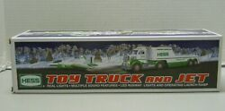 Hess Toy Truck And Jet 2010 Sound And Lights Led Runway Original Box Free Shipping