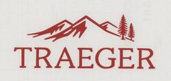 Traeger Grills 6 Red Decal / Sticker For Windows, Trailers, Bbq...