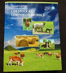 Introduction To Livestock And Companion Animals Teach... By ., Emergent Learning