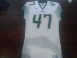 Colorado State Rams 47 White College Football Russell Size Large Jersey