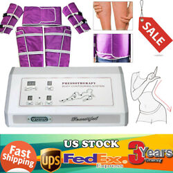 Pressotherapy Infrared Lymphatic Drainage Machine Body Massage Blanket Suit Us