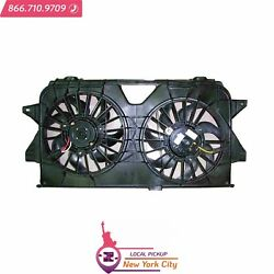 Local Pickup Dual Fan Assembly Fits Chrysler Town And Country 2005-2007 Ch3115145