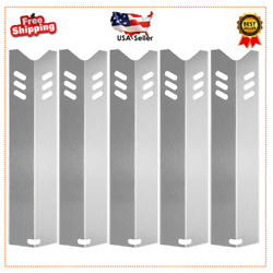 15 Stainless Steel Bbq Gas Grill Heat Plate Shield Tent Replacement 5 Pack Hot