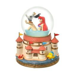 Disney Original Ariel And Scuttle Snow Globe The Little Mermaid Story Collection