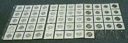 1970-1998 P And D Bu Washington Quarter Set With 1976-s Silver 57 Total840