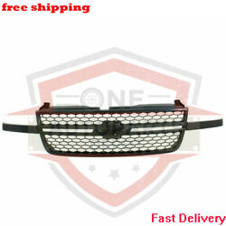 New Front Grill Grille Assembly For 03-07 Chevrolet Silverado 1500 Hd Gm1200586