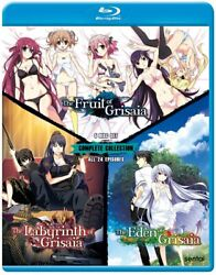 Grisaia Complete Collection [blu-ray] All 24 Episodes Brand New