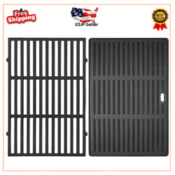 17.5 Cast Iron Grill Cooking Grates 2-pack For Weber Spirit 300/310/320 Series