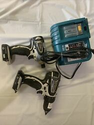 Makita Tool Set Lxfd01 Drill And Btd142 Driver Plus Charger
