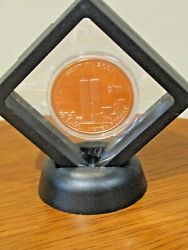 Lot Of 10 Never Forget 9/11 2001 World Trade Center Copper Round Ten 911 Coins