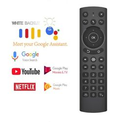 Pro Voice Backlit Smart Air Mouse Gyroscope Ir Learning Google Assistant Remote