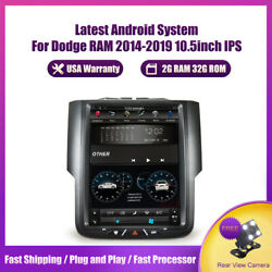 10.4and039and039android Tesla Style Car Gps Radio For Dodge Ram 1500 2500 3500 2013-2018