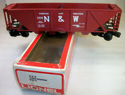 Lionel 9111 Red Quad Hopper Usually Brown Only 40 Units Made Ln++ Original Box