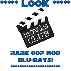 Look Blue Ray Movies Look You Pick Title Rare Oop Mod New