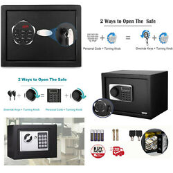 Home Digital Password Security Safe Box With Lock For Jewellery Money Valuables
