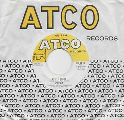 CREAM White Room Those Were The Days original 45 from 1968 ERIC CLAPTON