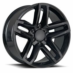 20 Trail Boss Gloss Black 33 A/t Tires Wheels Rims Fits For Suburban 19and039 - 22and039