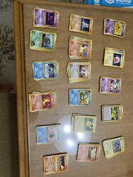 165 Uncommon And Common 1996 Pocket Monster Pokemon Cards