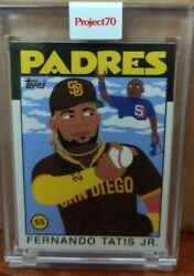 2021 Topps Project 70 Card 61 - 1986 Fernando Tatis Jr. By Keith Shore Padres