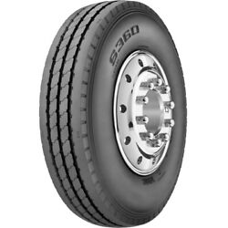 4 Tires General Ameristeel S360 11r22.5 Load H 16 Ply All Position Commercial