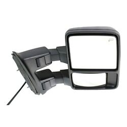 Tow Mirror For 2010 Ford F-450 Super Duty Passenger Side Power Fold Heat Signal