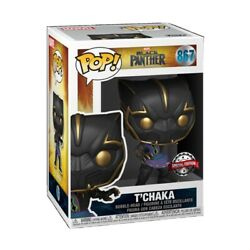 Tandrsquochaka Black Panther Funko Shop Exclusive Se Pop Brand New In Hand