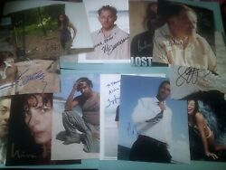 Lost X18 Hand Signed 10x8 Colour Photos Collection