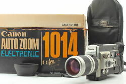 Read [unused] Canon Auto Zoom 1014 Electronic Super 8 8mm Film Movie From Japan