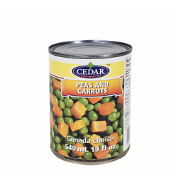 Cedar - All Canned Food Products - Beans/milk/fish/sauce - From Canada