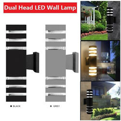 Waterproof Exterior Led Wall Light Modern Sconce Outdoor Porch Up Down Fixture