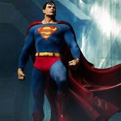 Sideshow Dc Comics 1/4 Scale Superman Premium Format Limited Edition Opened