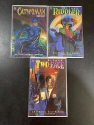 Batman Two Face Crime And Punishment, The Riddler Factory • Catwoman Defiant