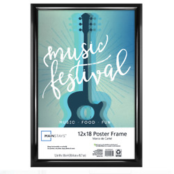 12 X 18 Trendsetter Wall Poster Picture Photo Hanging Frame Home Decor New