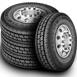 4 Tires General Hd 11r22.5 Load H 16 Ply Drive Commercial