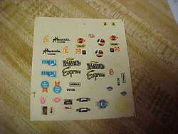 VINTAGE DECALS MPCWINGED EXPRESS