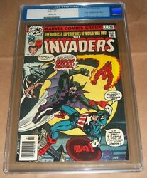 Invaders 7 1976 Cgc 9.6 Nm+ 1st App Appearance Union Jack And Baron Blood