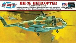 Atlantis Model 1/72 Us Air Force Sikorsky Hh-3 Helicopter Jolly Green Giant Fo