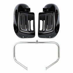 Lower Vented Leg And Water-cooled Engine Bar Fit For Harley Road Glide King 14-21
