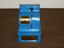 Vintage Toy 5 X 4 1/2 X 6 High Uncle Sam's 3 Coin Metal Coin Register Bank